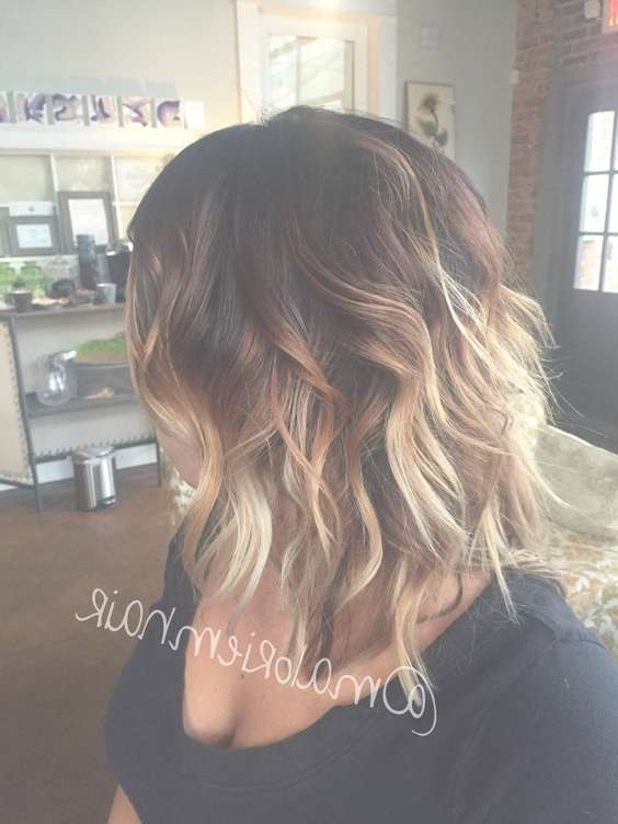 60 Trendy Ombre Hairstyles 2018 – Brunette, Blue, Red, Purple Intended For Most Current Ombre Medium Hairstyles (View 2 of 25)
