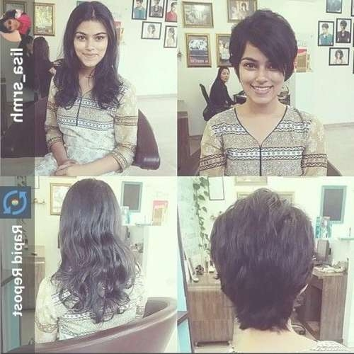 63 Best Short Indian Hairstyles Images On Pinterest | Bob Cuts Inside Indian Bob Haircuts (View 16 of 25)