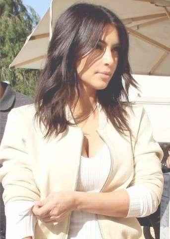 655 Best Hair – Short – Medium (Over 50) Images On Pinterest Regarding Best And Newest Kim Kardashian Medium Hairstyles (View 12 of 25)