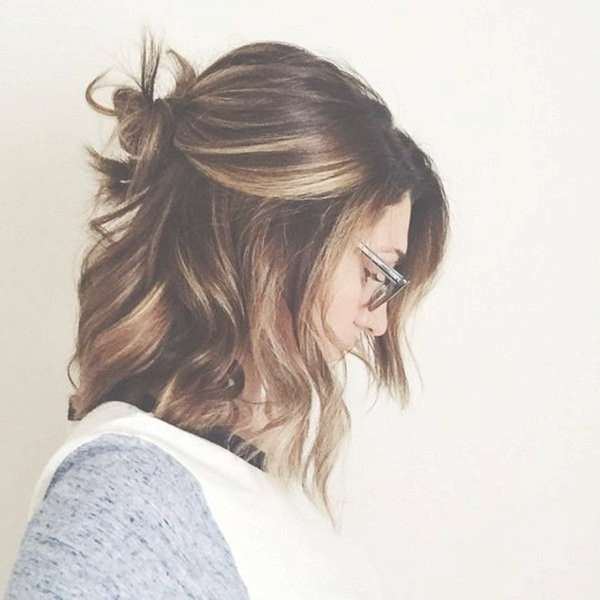 69 Best Beauty Images On Pinterest | Cabello De Colores, Colourful With Recent Half Short Half Medium Hairstyles (View 10 of 25)