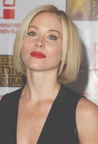 69 Blonde Straight Bob Haircuts (Best Blonde Bob Cuts!) Page 1 Of 7 Throughout Straight Bob Hairstyles (View 23 of 25)