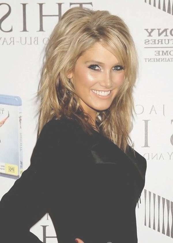69 Gorgeous Ways To Make Layered Hair Pop Pertaining To Most Recent Medium Haircuts With Lots Of Layers (View 21 of 25)