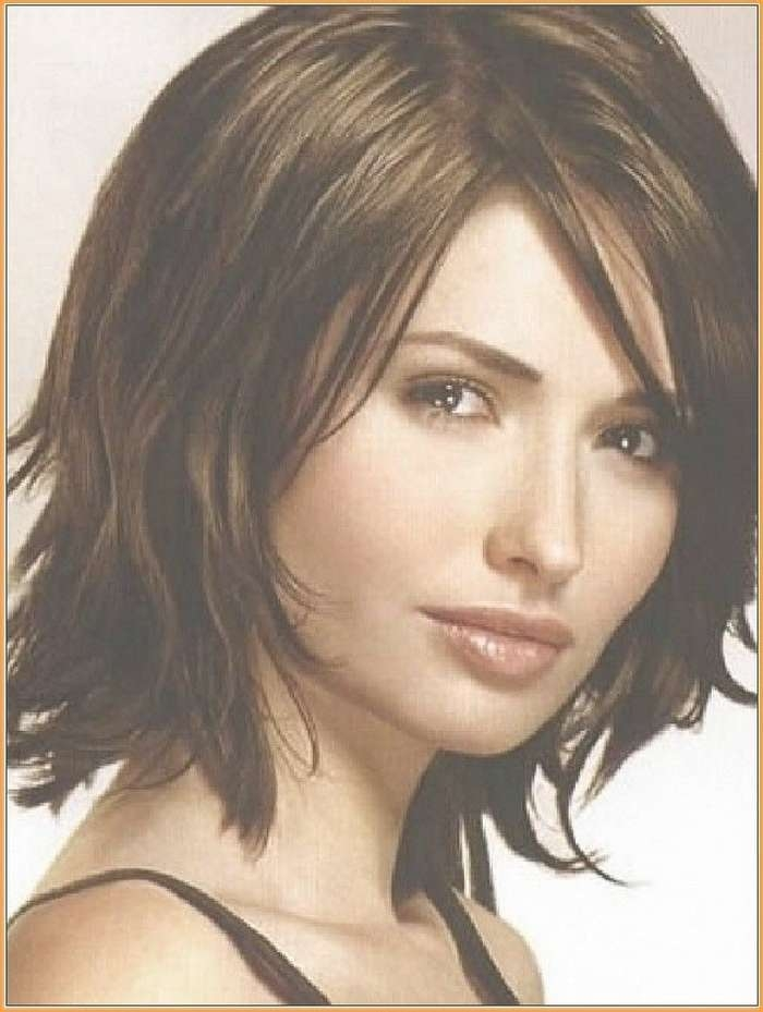 7 Best Hair Images On Pinterest | Bob Hairs, Hair Cut And Intended For Newest Medium Haircuts For Thick Fine Hair (View 3 of 25)