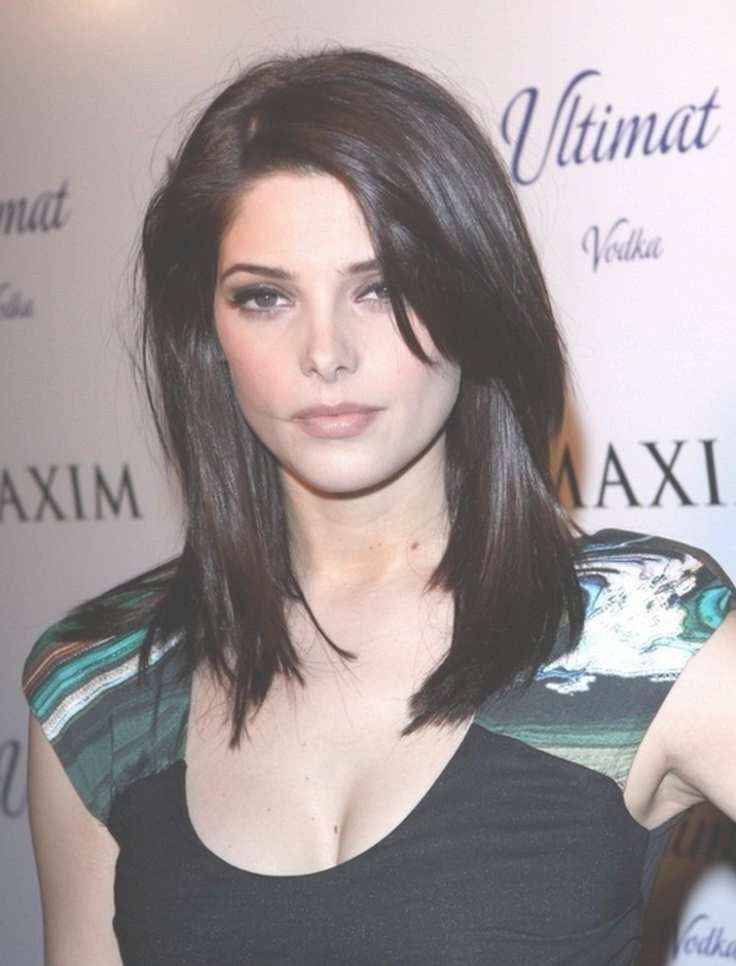 7 Best Hairstyles For Women Over 40 Images On Pinterest Throughout Latest Medium Haircuts For Round Faces Black Hair (View 22 of 25)