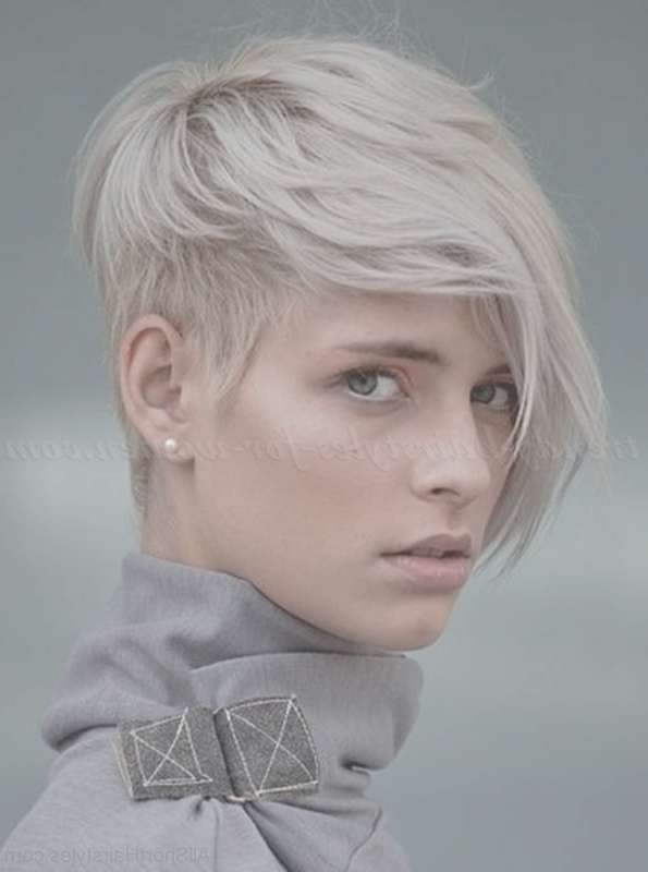 70 Adorable Short Undercut Hairstyle For Girls With Most Up To Date Undercut Medium Hairstyles For Women (View 11 of 25)