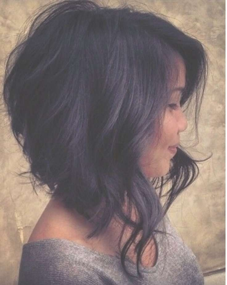 71 Best Beauty Images On Pinterest | Hair Dos, Hairdos And Intended For Latest Medium Hairstyles With Shaved Sides (View 7 of 25)