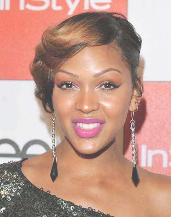 25 Collection Of Medium Haircuts For Black Women With Round Faces