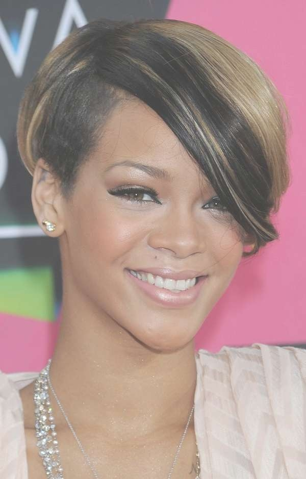 72 Short Hairstyles For Black Women With Images [2018 Inside Best And Newest Medium Haircuts For Black Women With Oval Faces (View 13 of 25)