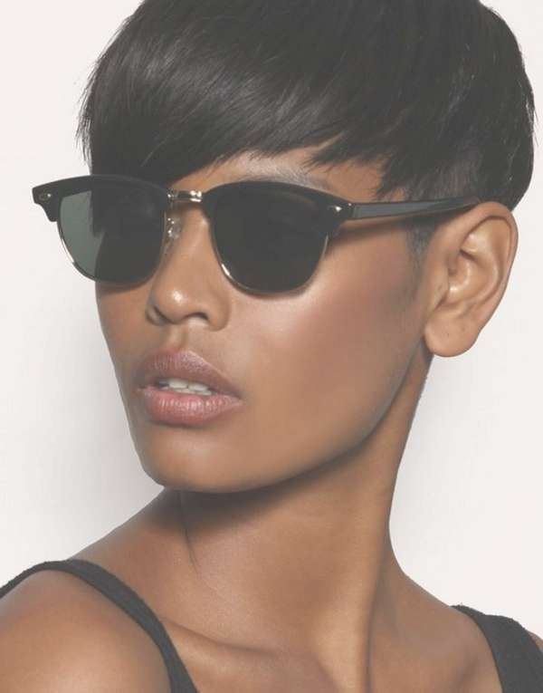 72 Short Hairstyles For Black Women With Images [2018 Regarding Current Very Medium Haircuts For Black Women (View 22 of 25)