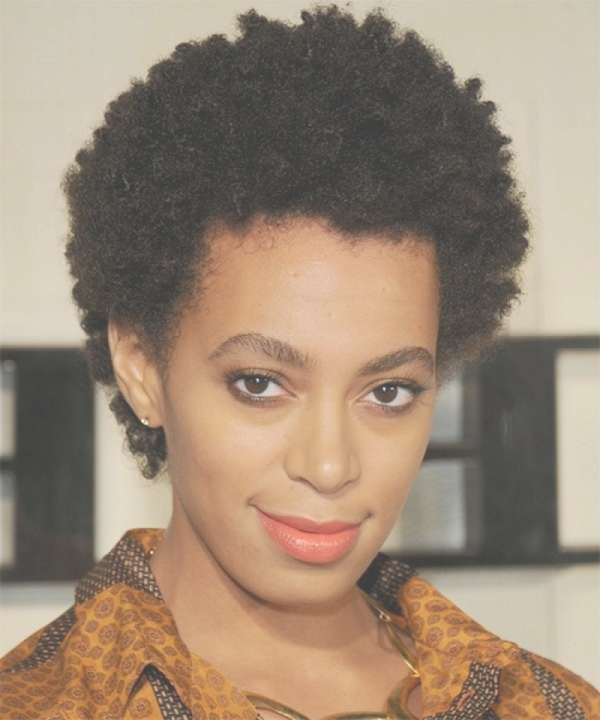 Explore Gallery Of Medium Haircuts For Black Women With Natural Hair