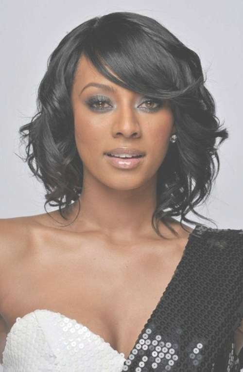 75 Cute & Cool Hairstyles For Girls – For Short, Long & Medium Hair Inside 2018 Cute Medium Hairstyles For Black Women (View 3 of 25)