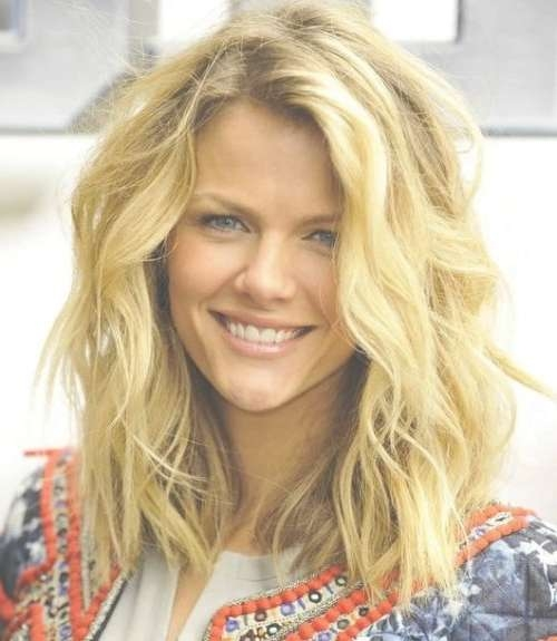 75 Cute & Cool Hairstyles For Girls – For Short, Long & Medium Hair With Regard To Best And Newest Tousled Medium Hairstyles (View 4 of 15)
