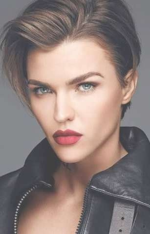 753 Best Ruby Rose Images On Pinterest | Short Hairstyle, Hair Dos In Recent Ruby Rose Medium Hairstyles (View 3 of 15)