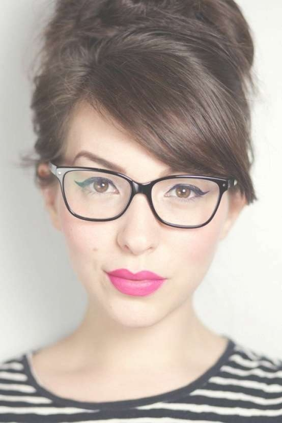 76 Best Hairstyles And Glasses Images On Pinterest | Hair Dos In Current Medium Haircuts For Women Who Wear Glasses (View 16 of 25)