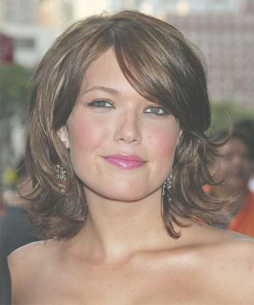 8 Best Hairstyles Images On Pinterest | Hair Cut, Hair Styles And Within Most Recently Medium Hairstyles For Round Chubby Faces (Gallery 17 of 25)