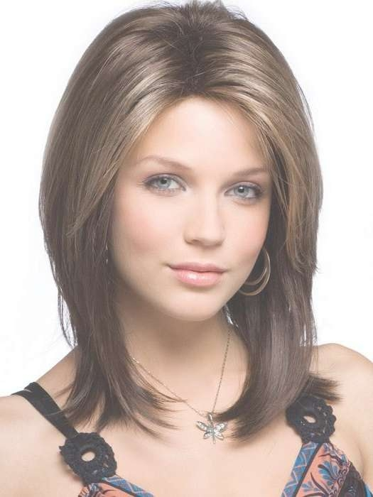 8 Best Medium Length Hairstyles Images On Pinterest | Hairstyles Intended For Most Current Medium Haircuts For Oblong Face (View 10 of 25)
