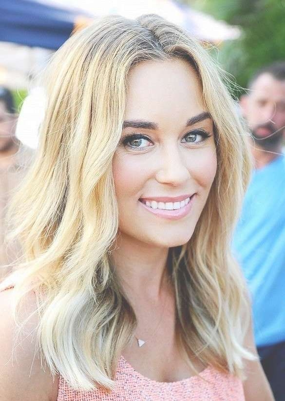 8 Best One Length Below The Shoulder Images On Pinterest | Hair For Latest Lauren Conrad Medium Haircuts (View 7 of 25)