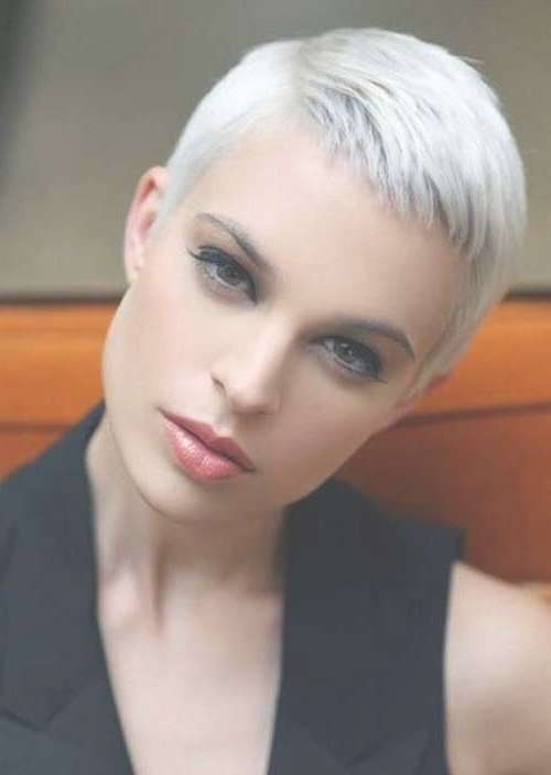 8 Best Short Grey Hair Styles Images On Pinterest | Short Gray With Most Current Medium Hairstyles For Gray Hair (Gallery 18 of 25)