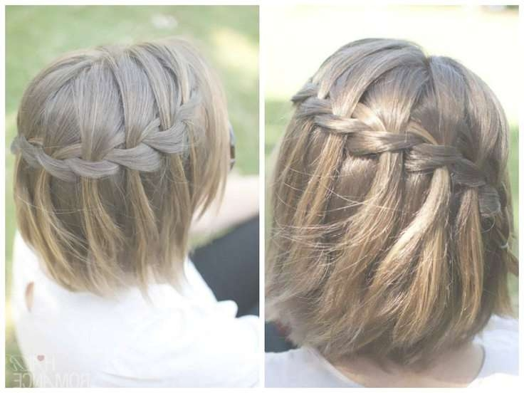 8 Best Special Occasion Hair Images On Pinterest | Braided Updo With Regard To Most Popular Medium Hairstyles For Special Occasions (Gallery 22 of 25)