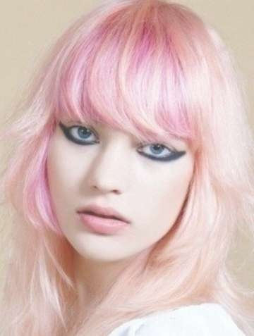 8 Eye Catching Pink Hairstyles For 2014 – Pretty Designs Inside 2018 Pinks Medium Haircuts (Gallery 23 of 25)