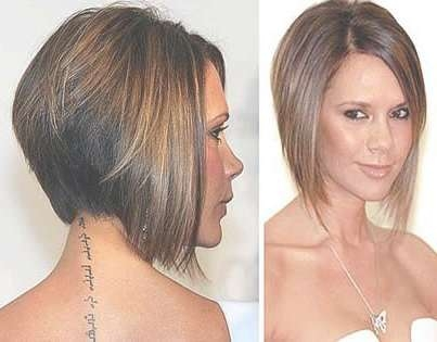 81 Best My Bob Cut Images On Pinterest | Shorter Hair, Hair Cut Throughout Best And Newest Posh Spice Medium Hairstyles (Gallery 3 of 15)
