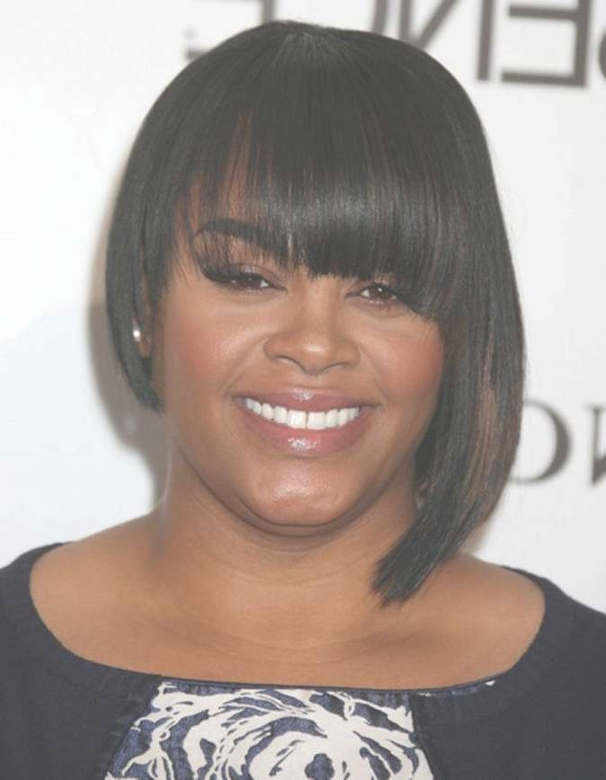 86 Best Hair Images On Pinterest | Black Girls Hairstyles Within 2018 Medium Haircuts For African American Women With Round Faces (View 8 of 25)