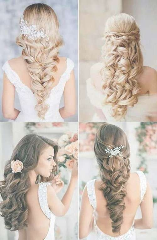 9 Best Curly Hair ( Hairstyles) Images On Pinterest | Bridal Inside Most Current Long Hairstyle For Wedding (View 24 of 25)