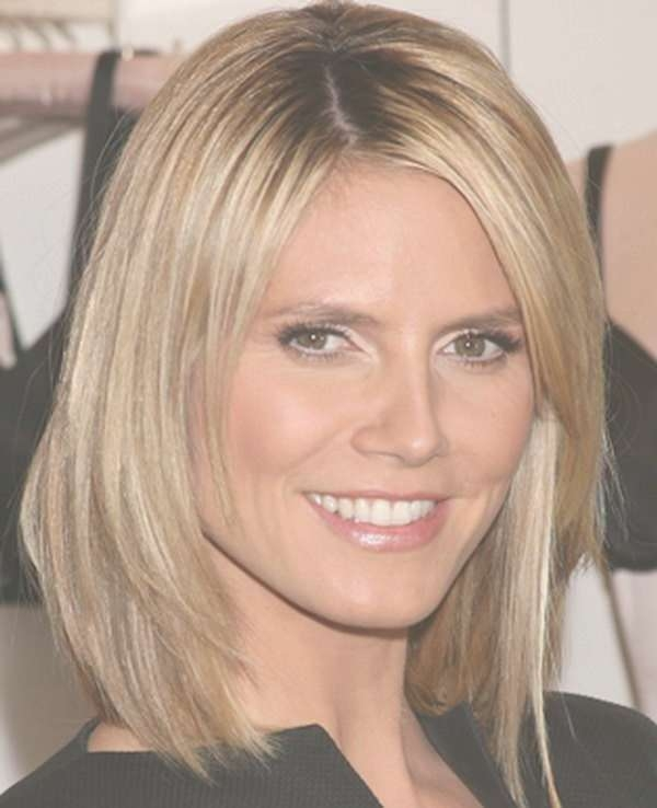 9 Best Hair Cuts Images On Pinterest | Hairdos, Hair Dos And Hair Intended For Latest Heidi Klum Medium Haircuts (View 10 of 25)