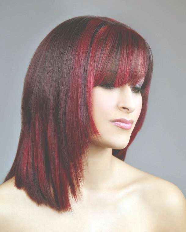 9 Best Hair To Love Images On Pinterest   Hair Dos, Hairdos And Braids Pertaining To Recent Medium Haircuts With Red Color (View 20 of 25)