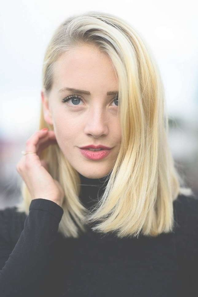 9 Best One Length Haircuts, Above Shoulder Images On Pinterest Inside Latest One Length Medium Haircuts (View 17 of 25)