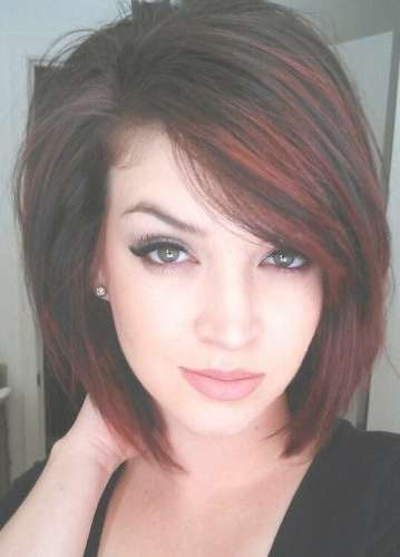 9 Trendy Medium Length Hairstyles For Thick Hair With Recent Medium Haircuts For Thick Hair (View 24 of 25)