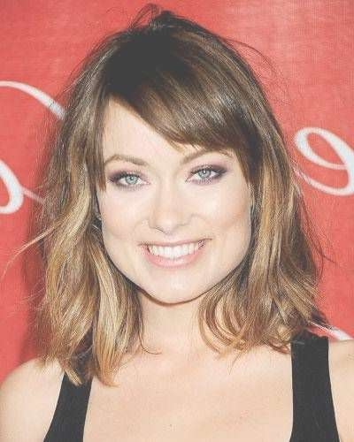 93 Best Square Face / ?????????? ????? ???? Images On Pinterest Regarding Most Current Medium Haircuts For Square Face Shape (View 4 of 25)