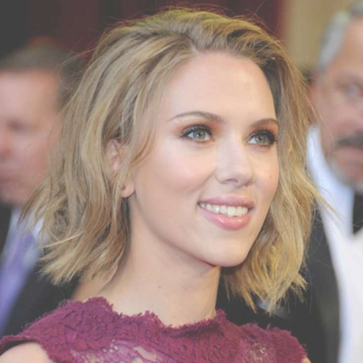 98 Best Scarlett Johansson Images On Pinterest | Scarlett O'hara Regarding Current Scarlett Johansson Medium Haircuts (View 1 of 25)