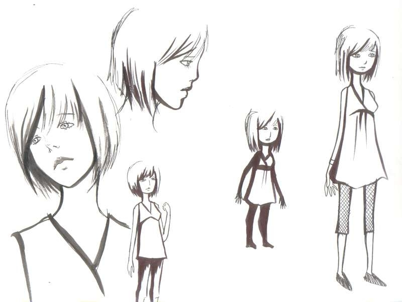 A Creator's Trove: Character Designs Part 2 In Anime Bob Haircuts (View 7 of 25)