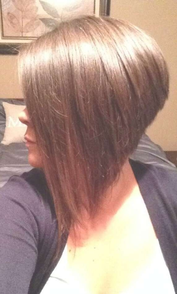 A Dramatic Inverted Bob Haircut That I Did On My Customer @the With Most Popular Dramatic Medium Hairstyles (View 3 of 15)
