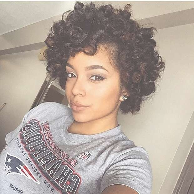 Image Gallery of Medium Haircuts For Natural African American Hair ...