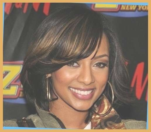 African American Women With Shoulder Length Bobs | Hairstyles For Pertaining To Newest Medium Hairstyles For African American Women (View 10 of 25)
