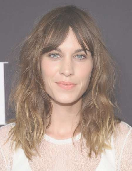 Alexa Chung Layered, Medium Messy Hairstyles 2013 – Popular Haircuts Intended For Most Popular Messy Medium Haircuts For Women (View 10 of 25)