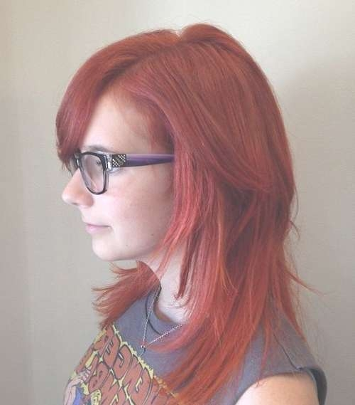 Amazing Medium Length Hairstyles For Fine Hair Regarding Most Recent Medium Hairstyles For Red Hair (View 24 of 25)