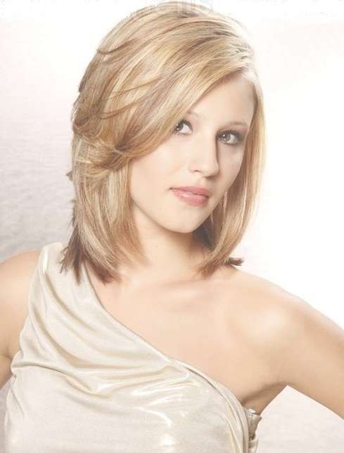 Amazing Medium Length Hairstyles For Fine Hair Regarding Recent Medium Haircuts For Fine Hair Oval Face (View 2 of 25)