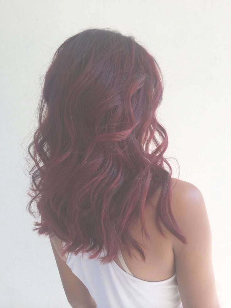 Balayage Hairstyles For Medium Length Hair Intended For Recent Red Hair Medium Haircuts (Gallery 23