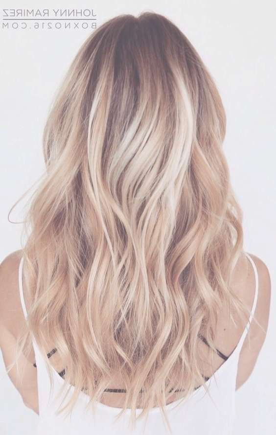 Balayage Medium Hairstyles – Layered, Wavy Haircuts For Women And Throughout Most Popular Medium Hairstyles With Balayage (View 9 of 15)