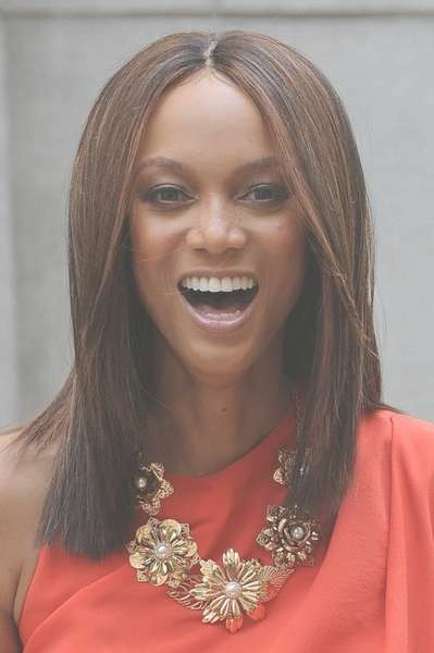Banks Medium Hairstyle Inside Most Recently Tyra Banks Medium Hairstyles (View 2 of 15)