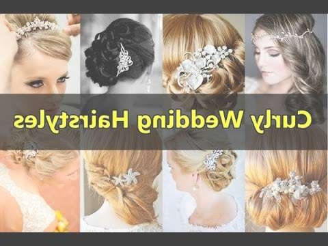 Beautiful Curly Wedding Hairstyles For Long, Medium, Short Curly Throughout Most Up To Date Indian Bridal Medium Hairstyles (View 9 of 25)