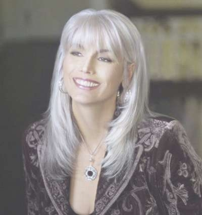 Beautiful Gray Hair Cuts – Hair World Magazine Pertaining To Best And Newest Medium Haircuts For Coarse Gray Hair (View 22 of 25)