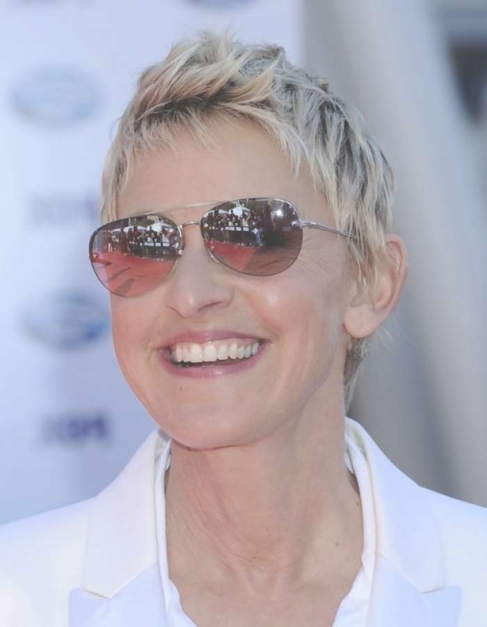 Beautiful Short Hairstyles For Women Over 60 – Short Hairstyles 2018 Inside Latest Medium Hairstyles For Women Who Wear Glasses (View 5 of 15)