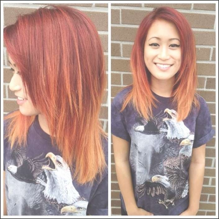 Beautifully Medium Length Haircuts For Thick Hair With Most Recent Medium Haircuts With Red Hair (View 14 of 25)