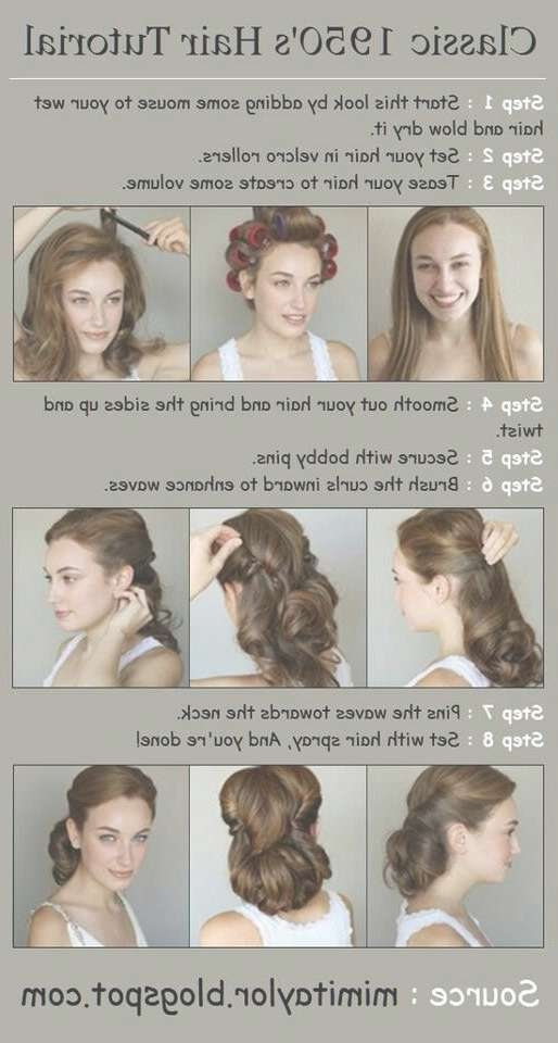 Best 25+ 1950S Hair Ideas On Pinterest   50S Hairstyles, Hair Inside Most Recently 1950 Medium Hairstyles (View 23 of 25)