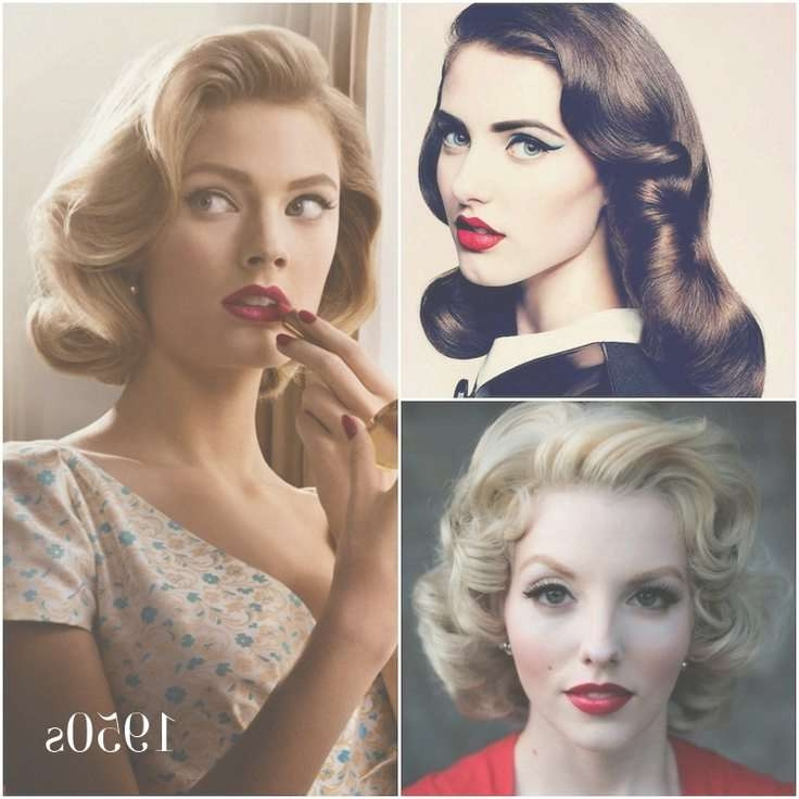 Best 25+ 50S Hairstyles Ideas On Pinterest | Retro Diy Weddings Intended For Most Popular Fifties Medium Hairstyles (View 13 of 25)