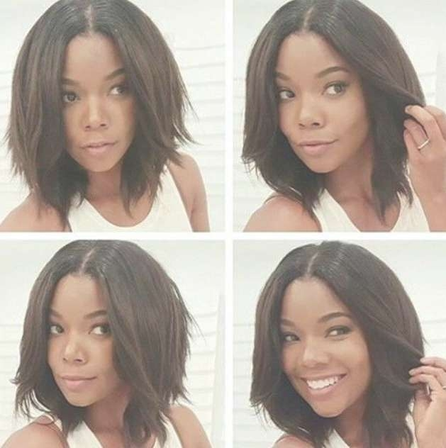Best 25+ African American Hairstyles For Women Bobs Ideas On Pertaining To Newest Bob Medium Hairstyles For Black Women (View 4 of 15)